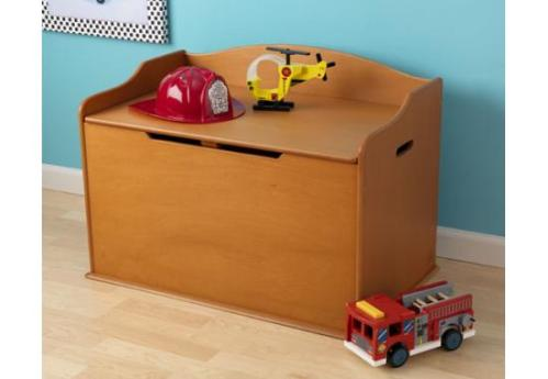 Kid-Kraft-Austin-Toy-Box-in-honey-color-#review!