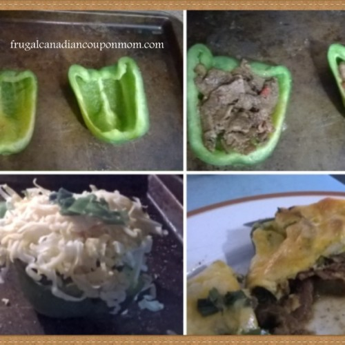 #HJrecipes--Our-homemade-steak-and-cheese-stuffed-green-peppers